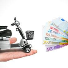 Scootmobiel kopen? Hoe pakt u dat financieel aan? De diverse opties!