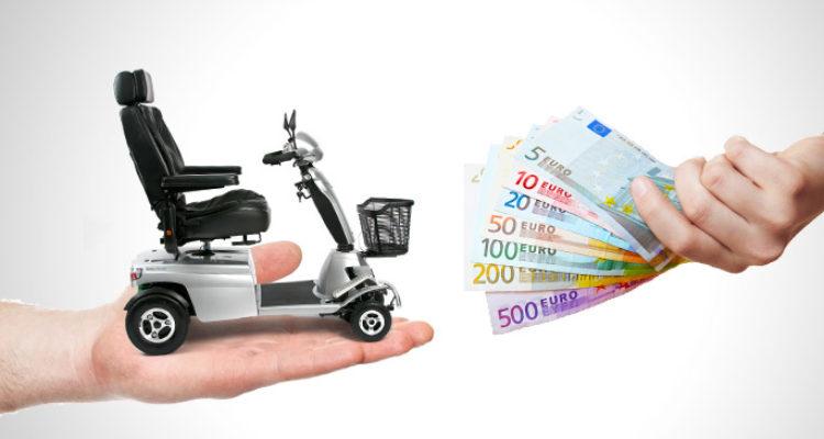 scootmobiel kopen financiële opties