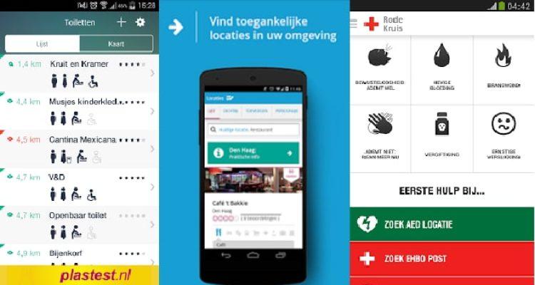 handige apps voor onderweg scootmobiel