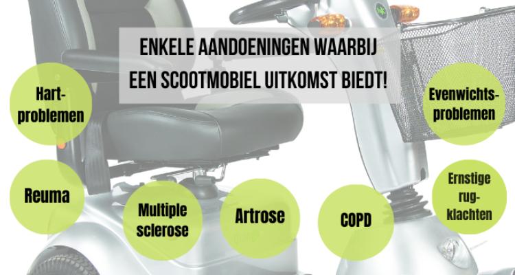 Mobiliteisbeperking ofwel overzicht aandoeningen waarbij scootmobiel uitkomst biedt