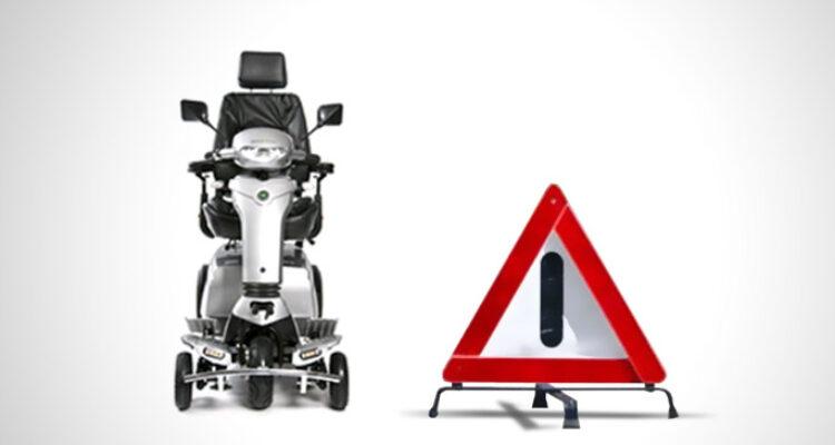 pech scootmobiel onderweg of thuis