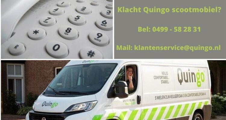 kennismaking serviceverlening bij klacht Quingo scootmobiel