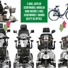 Gebruikte e-bike, auto of scootmobiel inruilen? Bij Quingo kan dat!